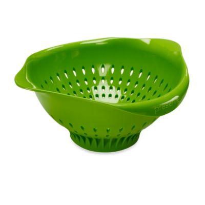 Preserve® Large Colander in Apple Green