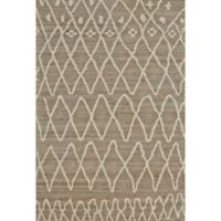 Feizy Midelt Dotted Diamonds 7-Foot 9-Inch x 9-Foot 9-Inch Area Rug in Natural/Slate