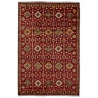 Feizy Isabella 7-Foot 9-Inch x 9-Foot 9-Inch Area Rug in Red