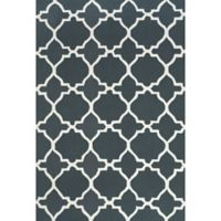 "Feizy Amalazari 3-Foot 6-Inch x 5-Foot 6""-Inch Hand-Hooked Area Rug in Gray/White"
