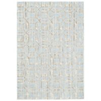 Feizy Manfred 2-Foot 2-Inch x 4-Foot Accent Rug in Ice