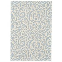 Feizy Manfred 2-Foot 2-Inch x 4-Foot Accent Rug in Mist