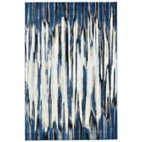 Feizy Manfred 2-Foot 2-Inch x 4-Foot Accent Rug in Indigo