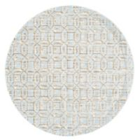 Feizy Manfred 8-Foot 9-Inch Round Area Rug in Ice