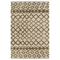 Kaleen Casablanca Tribal 8-Foot x 11-Foot Area Rug in Brown