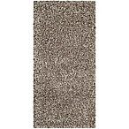 Safavieh Milan Shag 2-Foot x 4-Foot Sienna Rug in Grey