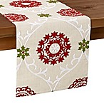 Folklore Poinsettia 108-Inch Table Runner