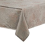 Waterford® Linens Timber 70-Inch x 104-Inch Oblong Tablecloth in Grey