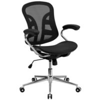 Flash Furniture 41-Inch - 44-Inch Mesh Office Chair in Black