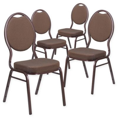 Padded Banquet Chairs buy brown stacking chairs from bed bath & beyond