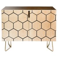 Deny Designs Allyson Johnson Honeycomb Credenza