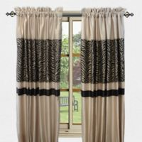 Sherry Kline True Safari 84-Inch Window Curtain Panel Pair in Brown