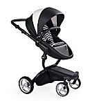 Mima® Xari Black Chassis Stroller in Black & White