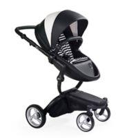 Mima® Xari Black Chassis Stroller in Black & White