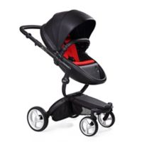 Mima® Xari Black Chassis Stroller in Black/Red