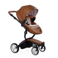 Mima® Xari Black Chassis Stroller in Camel/Sandy Beige