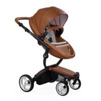 Mima® Xari Black Chassis Stroller in Camel/Stone White
