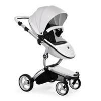 Mima Xari Aluminum Chassis Stroller in White/Black
