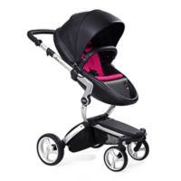Mima Xari Aluminum Chassis Stroller in Black/Magenta