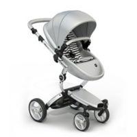 Mima Xari Aluminum Chassis Stroller in Black/White