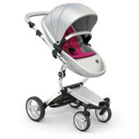 Mima Xari Aluminum Chassis Stroller in Silver/Magenta