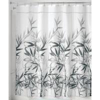 iDesign® Anzu 72-Inch x 72-Inch Shower Curtain in Grey