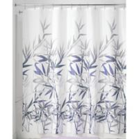 iDesign® Anzu 72-Inch x 72-Inch Shower Curtain in Purple