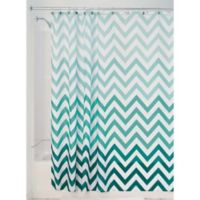 iDesign® Ombre Shower Curtain in Mint