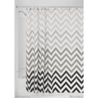 iDesign® Ombre Shower Curtain in Grey