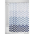 InterDesign® Ombre Shower Curtain in Blue