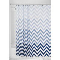 iDesign® Ombre Shower Curtain in Blue