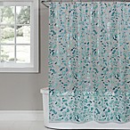 Saturday Knight Sea Glass PEVA Shower Curtain in White