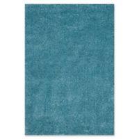 Safavieh California Shag 3-Foot x 5-Foot Irvine Rug in Turquoise