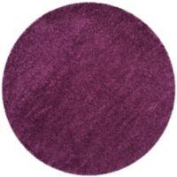 Safavieh California Shag 4-Foot x 4-Foot Irvine Rug in Purple