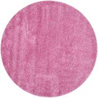 Safavieh California Shag 4-Foot x 4-Foot Irvine Rug in Pink