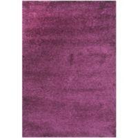 Safavieh California Shag 4-Foot x 6-Foot Irvine Rug in Purple