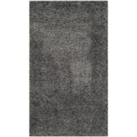 Safavieh California Shag 4-Foot x 6-Foot Irvine Rug in Dark Grey
