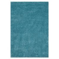 Safavieh California Shag 5-Foot 3-Inch x 7-Foot 6-Inch Irvine Rug in Turquoise