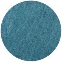 Safavieh California Shag 6-Foot 7-Inch x 6-Foot 7-Inch Irvine Rug in Turquoise