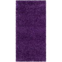 Safavieh Milan Shag 2-Foot x 4-Foot Sienna Rug in Purple