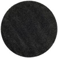 Safavieh Milan Shag 3-Foot x 3-Foot Sienna Rug in Dark Grey