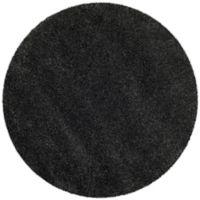 Safavieh Milan Shag 7-Foot x 7-Foot Sienna Rug in Dark Grey