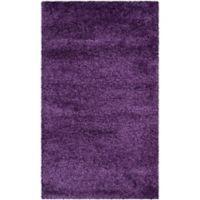 Safavieh Milan Shag 8-Foot x 10-Foot Sienna Rug in Purple