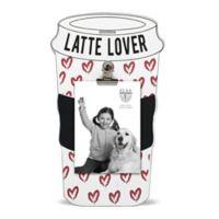 Elsa L 3-Inch x 4-Inch Latte Lover Picture Frame