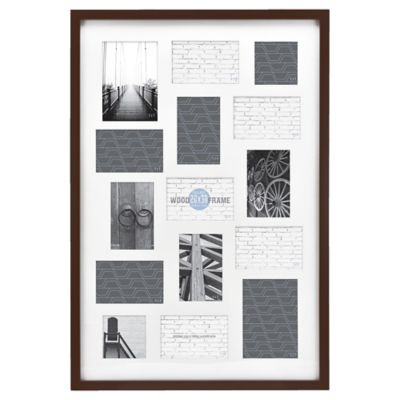 Buy Espresso Collage Frames from Bed Bath & Beyond
