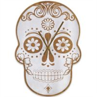Sterling & Noble Skull Wall Clock