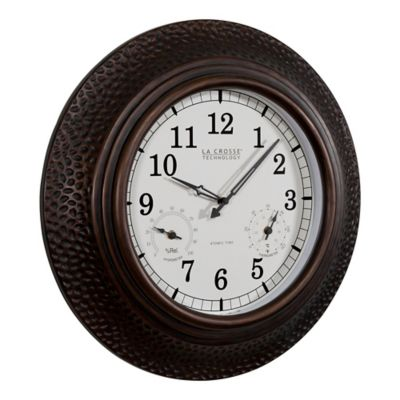 Buy Indoor / Outdoor Clock from Bed Bath & Beyond