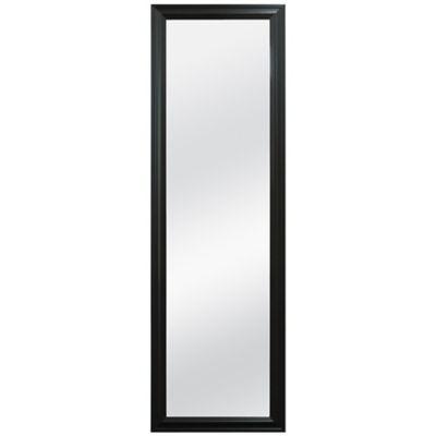 Over The Door Mirror In Black