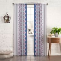 Pairs to Go™ Mantra 63-Inch Rod Pocket Window Curtain Panel Pair in Purple