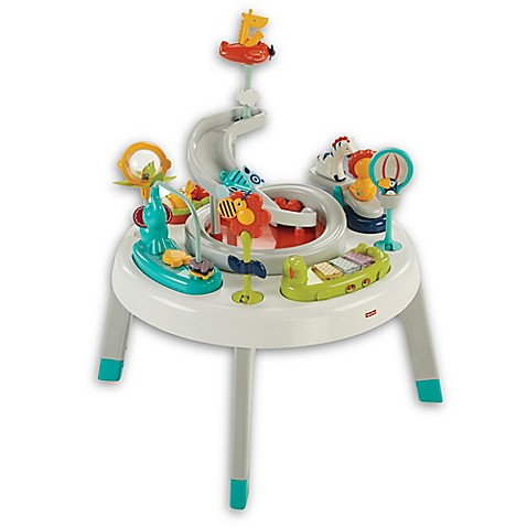 fisher price 2 in 1 sit to stand activity center bed bath beyond. Black Bedroom Furniture Sets. Home Design Ideas